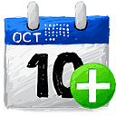 Calendar Add - icon #193203 gratis