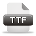 Ttf File - icon gratuit #193233