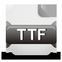 fichier ttf - icon gratuit #193233