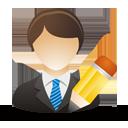 modifier utilisateur professionnel - Free icon #193273