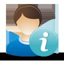 información de usuario masculino - icon #193293 gratis