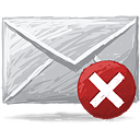excluir email - Free icon #193363