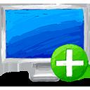 Ajouter ordinateur - icon gratuit(e) #193403