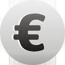 symbole monétaire Euro - icon gratuit(e) #193553