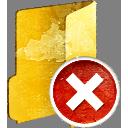 suppression de dossier - icon gratuit #193883