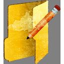 Ordner bearbeiten - Kostenloses icon #194003