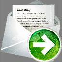 courrier vers l'avant - Free icon #194023