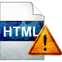 ADVERTENCIA de página HTML - icon #194033 gratis