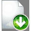 Seite nach unten - Kostenloses icon #194093