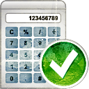 Calculator Accept - icon #194223 gratis