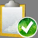 Aceptar la nota - icon #194233 gratis