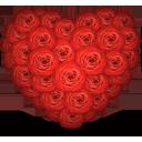 Сердце роз - бесплатный icon #194353