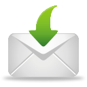 Mail Receive - icon gratuit(e) #194903