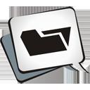pasta aberta - Free icon #195083