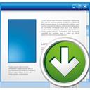 приложение вниз - бесплатный icon #195183