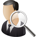 Business User Search - icon gratuit #195213