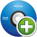 Adicionar CD - Free icon #195223