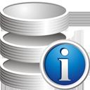 informação do banco de dados - Free icon #195283