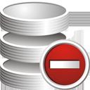 Удаление базы данных - бесплатный icon #195293