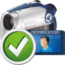 Digital Camcorder Accept - Free icon #195303