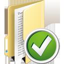 Folder Accept - Free icon #195333