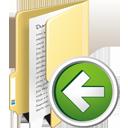 Folder Previous - Free icon #195353