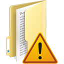 Folder Warning - icon #195363 gratis