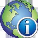 Globe Info - Free icon #195373