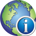 Глобус информация - бесплатный icon #195373