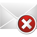 excluir email - Free icon #195463
