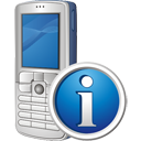 Mobile Phone Info - icon gratuit #195493