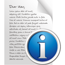 Page d'information - Free icon #195563
