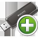 Ajouter de la clé USB - Free icon #195703