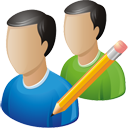 Users Edit - icon #195723 gratis