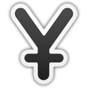 Yen Currency Sign - Kostenloses icon #195803