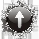 Up Arrow - Free icon #195943