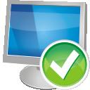 ordinateur accepte - icon gratuit #195973
