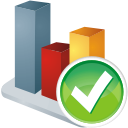 Chart Accept - icon #196123 gratis