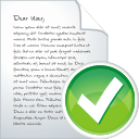 Blog Post Accept - Free icon #196303