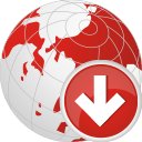 Globe Down - icon gratuit #196753
