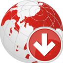 Globe Down - Free icon #196753