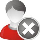 Удалить пользователя - бесплатный icon #196833
