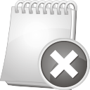 Note Remove - icon gratuit #196873