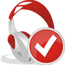 Wireless Headset Accept - icon gratuit #196953