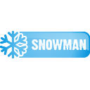 Snowman Button - icon gratuit #197123