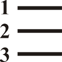 nummerierte Liste - Kostenloses icon #197323