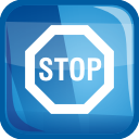 Stop - icon #197513 gratis