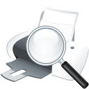 Printer Search - icon gratuit #197593