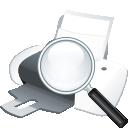 Поиск принтера - бесплатный icon #197593