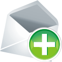 Mail Add - Free icon #197623